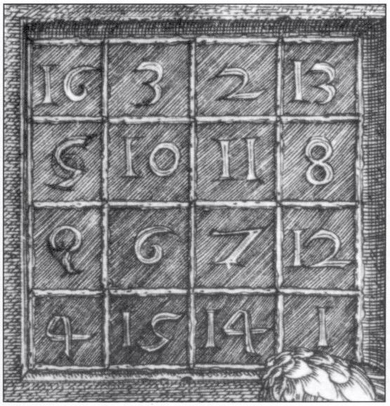 Albrecht Dürer's magic square