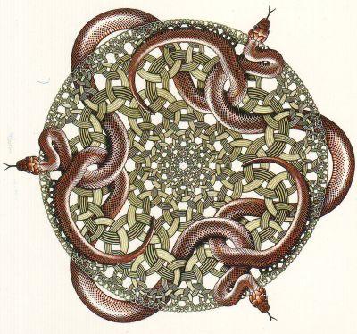 escher-snakes