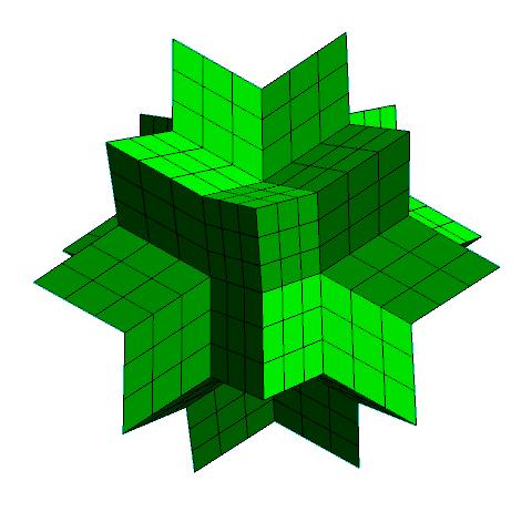 Reptile hexecontahedron