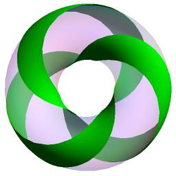 trefoil-torus