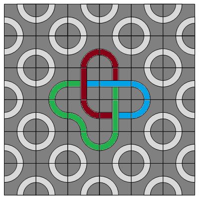 trefoil-tricolour